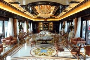 Inside Mezhyhirya, Yanukovych's residence © The Telegraph
