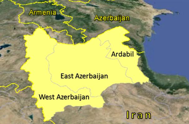 Azeri provinces2